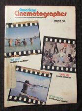 1974 AMERICAN CINEMATOGRAPHER Magazine v.55 #3 VG The Dove - Swing Shift