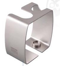 DOVO Satin Stainless Steel Straight or DE Razor & Shaving Brush Stand 499806