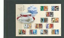 Hong Kong 2002 Cultural Diversity 10c-$5 MS, SGMS1130a mnh