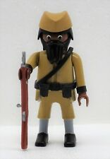 Deutsche force de protection Afrique Askari F Playmobil à Soldat Zoulou PRUSSIA WW Custom