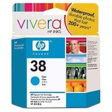 Original HP 38 cyan C9415A Photosmart Pro B8850 B9180 OVP 03/2014