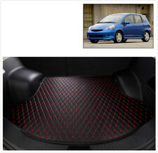 2012-15 Civic Rear Cargo Liner Tray Leather Trunk Floor Mat Cover For Honda Civi