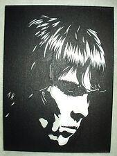 Canvas Painting Ian Brown Moody Portrait B&W Art 16x12 inch Acrylic