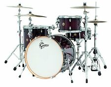 "Gretsch Catalina Maple 4-Piece Shell Pack 22"" Bass Drum Deep Cherry Burst"