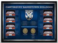 Canterbury Bulldogs Historical Series – Framed