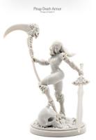 Kingdom Death Monster Pinups of Death 3 Death Armor + Art Card. Kickstarter
