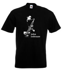 John Coltrane T Shirt Jazz Saxophone Dizzy Gillespie Miles Davis Blue Note