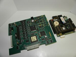 Brooks Automation Controller Board 002-3762-03 Rev B7 with PCMSX-2801L PC104 boa