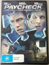 Paycheck (Ben Affleck & Uma Thurman) DVD (Region 4)