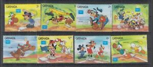 N466. Grenada - MNH - Cartoons - Disney's - Sports - Baseball