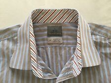 Thomas Dean Men's Long Sleeve Shirt Size 18R - EUC Maybe NEW See Photos!