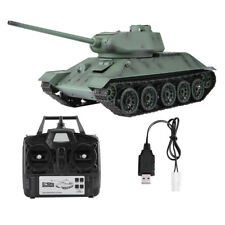 Heng Long 1/16 Scale 2.4G Upgrade Version Simulation T-34 RC Tank Model 3909-1