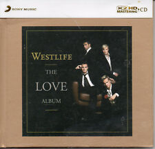 "WESTLIFE ""THE LOVE ALBUM"" JAPANESE K2HD MASTERING CD NUMBERED EDITION 0131 MINT!"