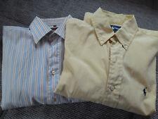 Camisa polo ralph lauren amarillo talla L manga larga Abercrombie manga corta talla 40 getreift