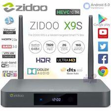Zidoo X9S Android 6.0 16 GB Ulta HD TV Box