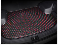For Ford Edge 5Seat 15-17 Black Leather Car Cargo Rear Trunk Mat Boot Liner Tray