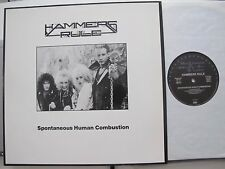 HAMMERS RULE spontaneous human combustion LP US Speed Metal enterprises 1987 rar