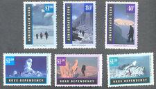 Ross Dependency-NUOVA ZELANDA-ANTARTICO Paesaggi Gomma integra, non linguellato Set (38/43) 1996