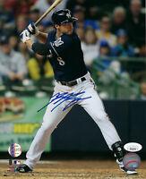 BREWERS Ryan Braun signed 8x10 photo JSA COA Autographed AUTO MVP Milwaukee