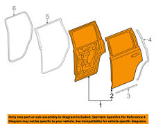 GM OEM Rear Door-Shell Frame Panel Right 84253593