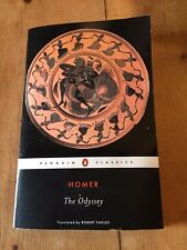 "2004 ""THE ODYSSEY"" BY HOMER TROJAN TROY EPIC WAR POEM THICK PAPERBACK BOOK"