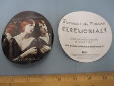 FLORENCE + THE MACHINE 2011  Ceremonials Promotional Sticker New Old Stock