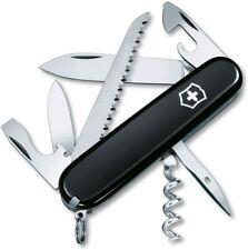 Victorinox Swiss Army Camper Pocket Knife, Black