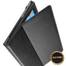 "Case For Lenovo Tab 4 Plus 10 / Lenovo Moto Tab ""Slimfit"" Leather Cover Black"