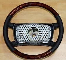 MERCEDES  R107 W124 W201 LENKRAD LEDER WURZELHOLZ 1985 - 1989