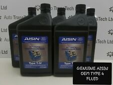 genuine ford galaxy mondeo focus aisin oem atf type iv automatic grarbox oil 6L