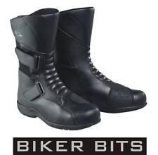 Bottes noires Alpinestars pour motocyclette