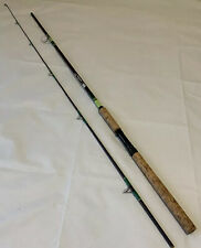 "Kencor SH85 8'6"" 4-12Lb Tenlew Magnaglas Fishing Rod Vintage Rare 2 Pieces USA"