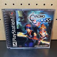 Chrono Cross (PlayStation 1) Black Label CIB Complete PS1 Tested Working