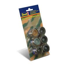Original Revell 32340 Military Colour Enamel Paint Set (32340)