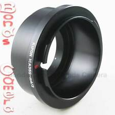 Kipon Icarex ICA 35 35S lens to Micro M 4/3 M4/3 mount Adapter E-P3 OM-D G3 GX1