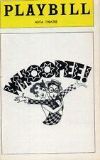 WHOOPEE OPENING NIGHT 1979 ORIGINAL BROADWAY PLAYBILL