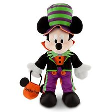 "DISNEY STORE HALLOWEEN TIME PLUSH MICKEY MOUSE 12"" NWT DISNEY PARKS AUTHENTIC"