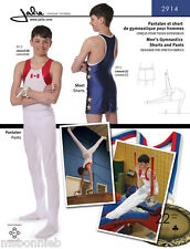 Jalie 2914 Men's & Boys' Gymnastics Pants & Shorts Sewing Pattern in 22 Sizes