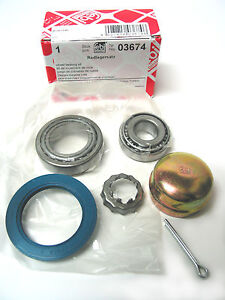 FEBI Rear Wheel Bearing Kit for VW Golf Mk1 Mk2 Mk3 inc GTI, Scirocco & Corrado