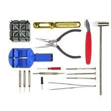 16 un. Watch Repair Kit Pin Set & Back Removedor De Reparaciones Abridor-Herramienta