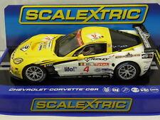 Scalextric C3390 Slot Car Chevrolet Corvette C6R 24h Spa Francorchamps M. 1:32
