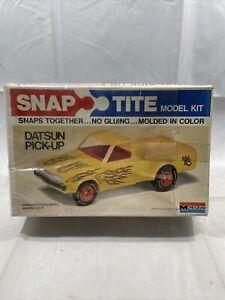 Vintage Monogram 1979 Datsun Pick-Up Snap Tite #1005