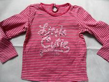 TCM TCHIBO gestreiftes Langarmshirt rosa pink Cutie Gr. 110/116 TOP KSo518