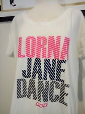 LORNA JANE DANCE ACTIVE TOP TANK SPORT GYM YOGA RUN EXERCISE WOMEN FIT LARGE M