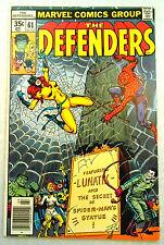 Marvel Comics THE DEFENDERS Vol 1 #61 1978 LIFE LIBERTY & the PURSUIT of LUNATIK