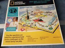 National Geographic Geo Bee Challenge Board Game Educational Trivia Alex Trebek