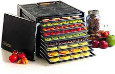 Excalibur 3900B 9-Tray Electric Food Dehydrator Adjustable Thermostat, Black