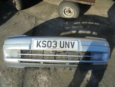 VAUXHALL ASTRA G SILVER FRONT BUMPER 98 TO 04 Z157-COLLECTION ONLY-LE671EU