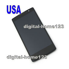 LCD Display Touch Screen Digitizer For LG Spirit 4G C70 H440Y H440N H420 +Frame