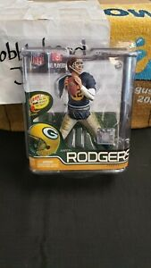 NIB NFL AARON RODGERS GREEN BAY PACKERS MCFARLANE SERIES 29 CHASE ACME JERSEY